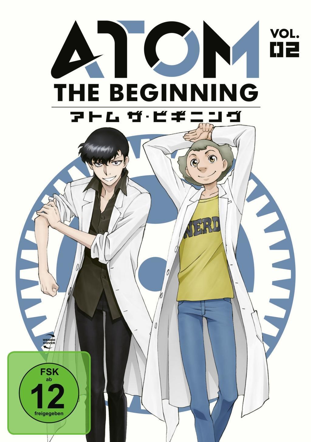 Atom the Beginning Vol. 2  Tatsuo Sato  DVD  Deutsch  2018