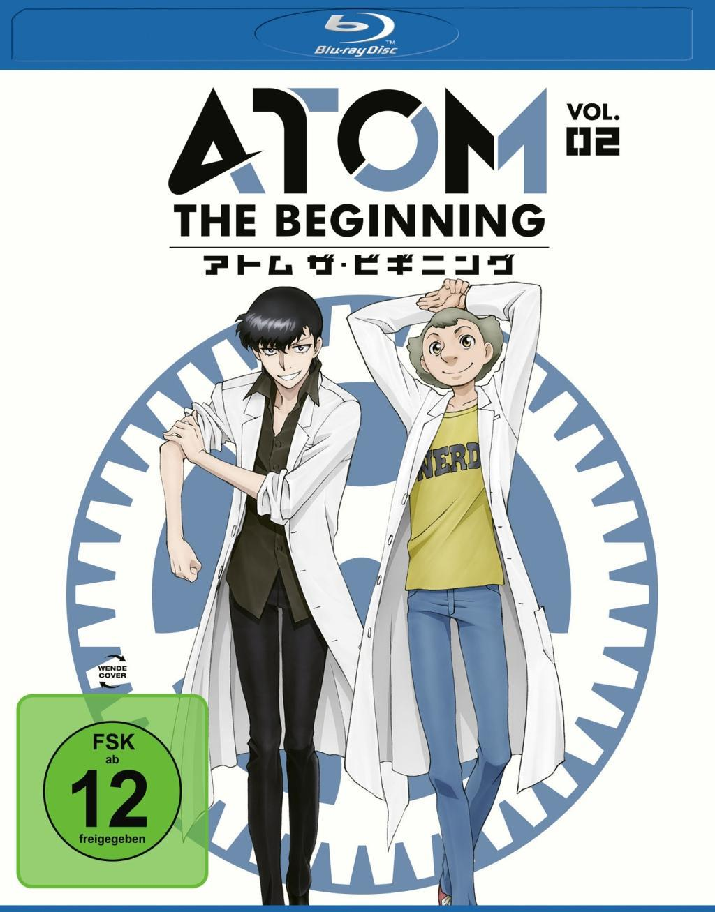 Atom the Beginning Vol. 2 BD  TatsuoMotohiro Sato  Blu-ray Disc  Deutsch  2018