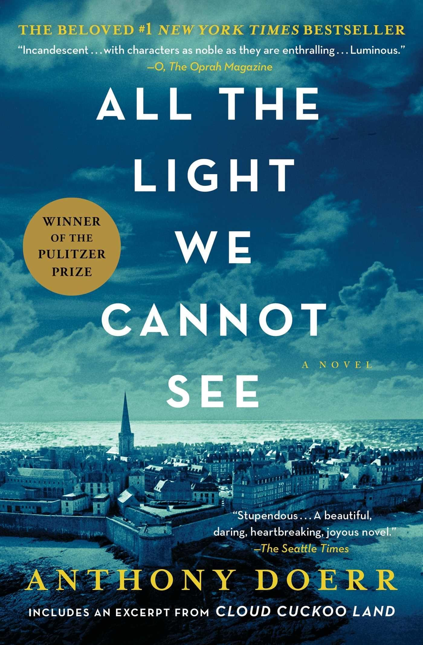 All the Light We Cannot See  Anthony Doerr  Taschenbuch  Englisch  2017