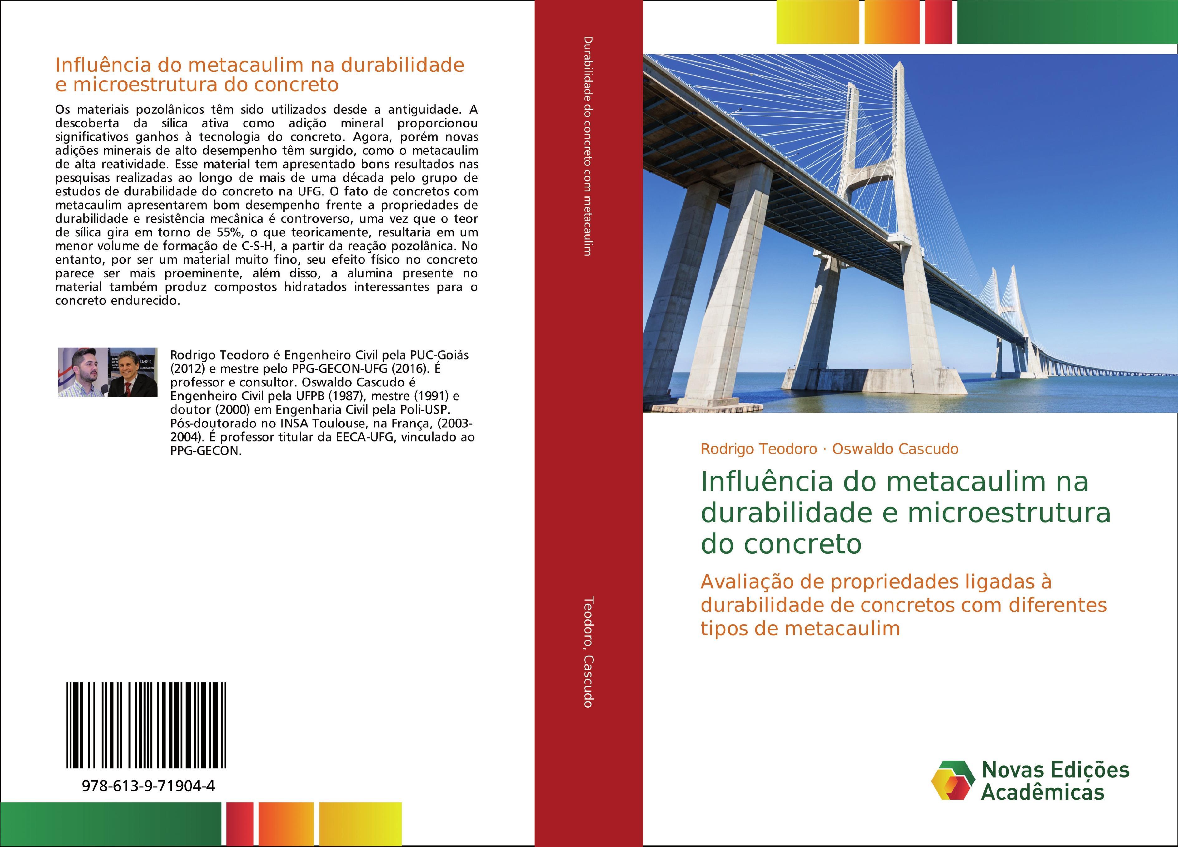 Influência do metacaulim na durabilidade e microestrutura do concreto
