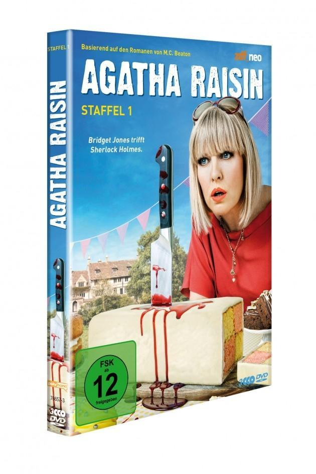 Agatha Raisin - Staffel 1  M. C. Beaton  DVD  3 DVDs  Deutsch  2017